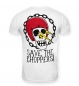 Preview: Save The Choppers! Skull Flasher – T-Shirt Weiss