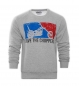 Preview: Save The Choppers! – Sweatshirt Major League Logo grau