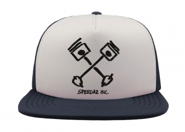 Speedaz Inc. - Crossed Pistons - Snap Back Trucker Hat