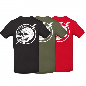 Chopperforum Skull-T-Shirt