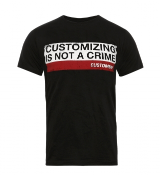 Customizing is not a crime – T-Shirt
