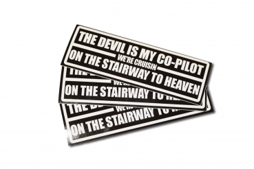 The devil is my copilot