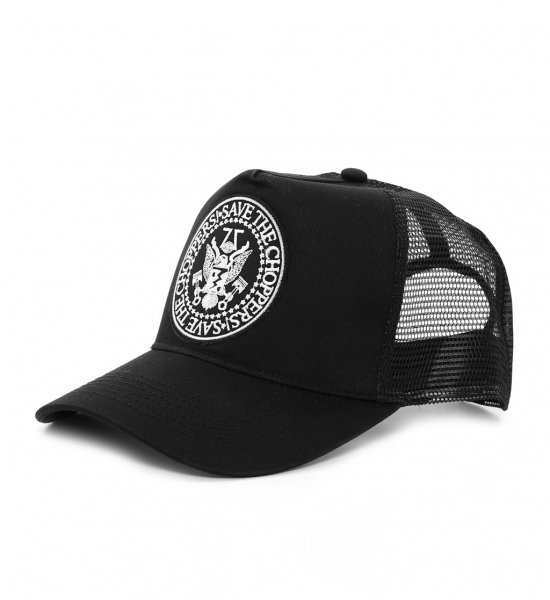 Save The Choppers! Trucker-Hat, schwarz