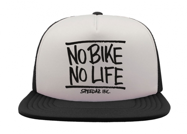 Speedaz Inc. - No Bike, No Life - Snap Back Trucker Hat